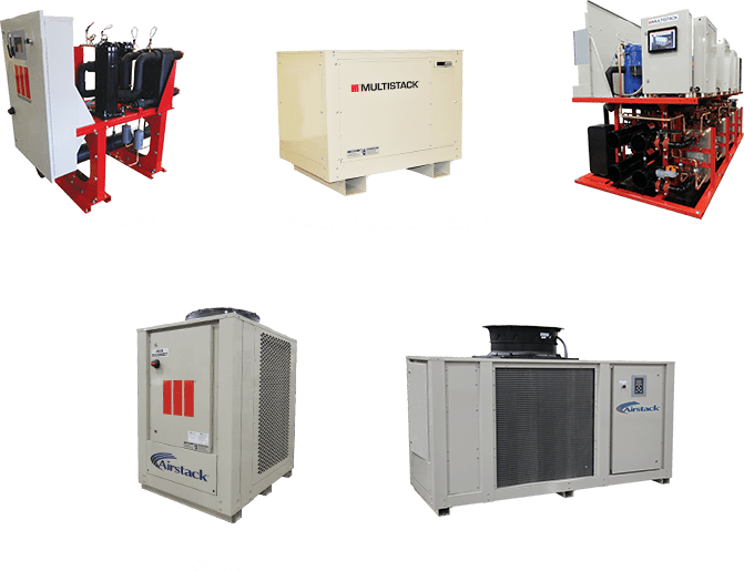Eco friendly modular chillers - Multistack
